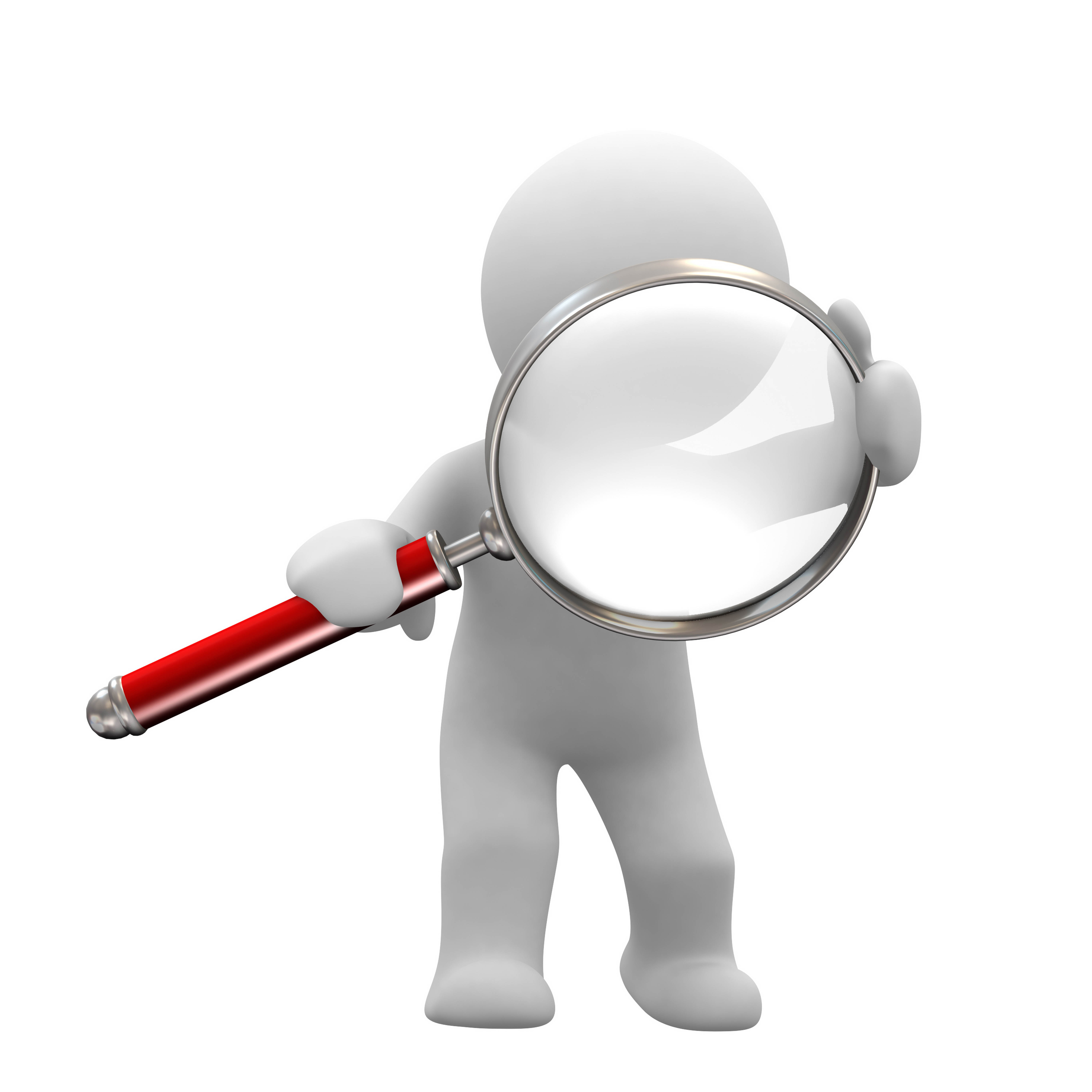 Magnifying Glass White Magnifying Glass Icon
